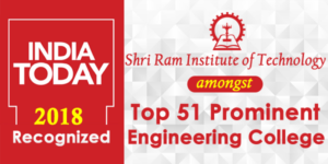 India Today recognized Shri ram institute of technology , Jabalpur amongst top 51 Prominent Engineering Colleges