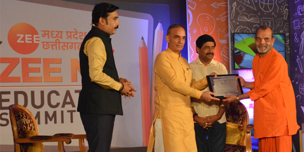 Shri Ram Institute of Technology , Jabalpur has bagged the award of 'Best Engineering College in Central India.' The award was presented by Dr Satyapal Singh, Hon'ble Minister of State for Human Resource & Development, Govt. of India and Shri Deepak Joshi, Hon'ble Minister for Technical Education and Skills Development , Govt. of MP in the ZEE TV Education Summit to Shri Dr. S.P.Kosta DIRECTOR GENERAL,SHRI RAM GROUP, Jabalpur.