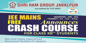 Free crash course for JEE -MAINS