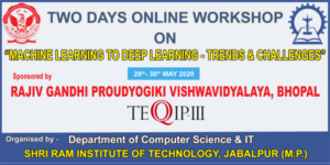 workshop on  Machine Learning to Deep Learning: Trends and Challenges