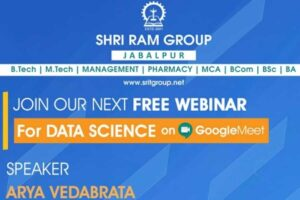 Webinar on Data Science : Sep 10, 2020 10:30am – 12pm