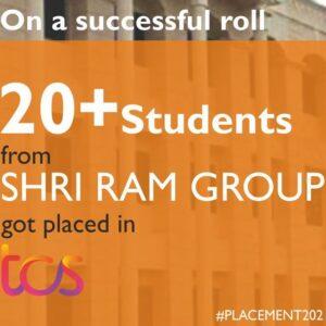 More than 20 students got selected at TCS