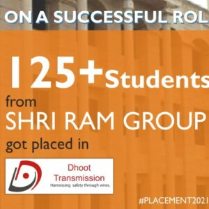Proud Moment: More than 125 students got selected at Dhoot Transmission