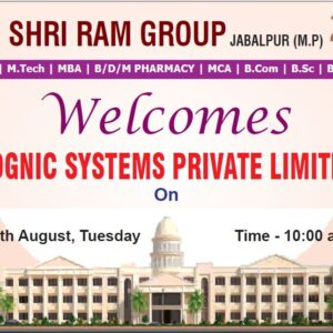 Cognic System Private Limited Campus Drive on 17 Aug 2021 at 10:00am